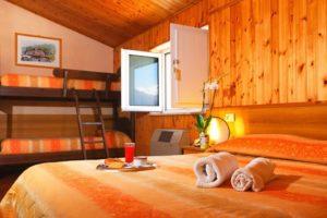 Camera Familiare - Hotel Holidays Barrea - con Vista Lago e Montagne