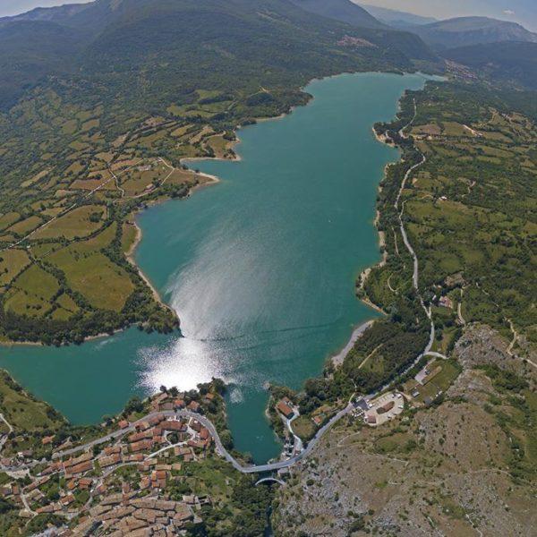 Lago di Barrea - Drone - Vallis Regia