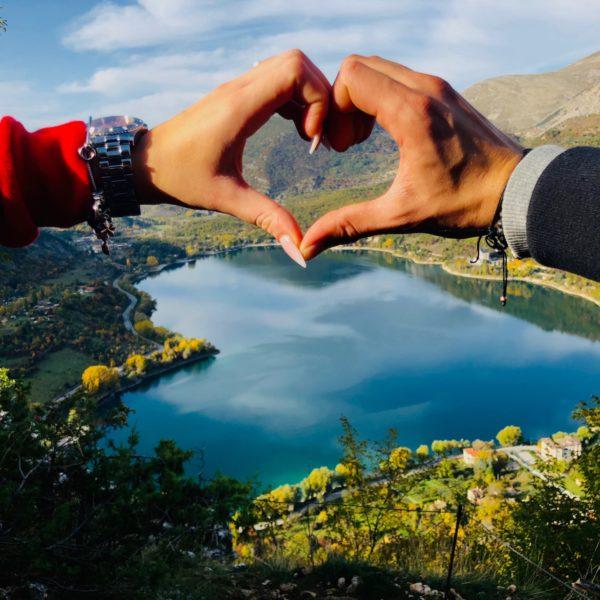 Lago di Scanno - Sentiero del Cuore