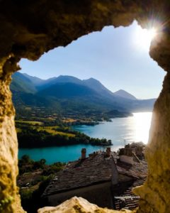 Lago di Barrea - Vista dal Castello Medievale