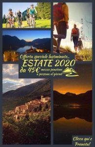Offerte Estate 2020 - Vacanze nel Parco Nazionale d'Abruzzo